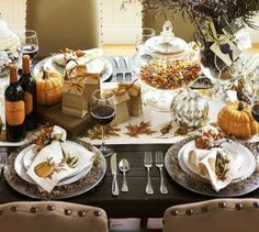 South Shore Decorating Blog: Fall and Thanksgiving Table Settings that Inspire (Part 2)