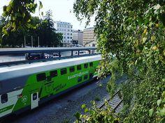 Vaasa railway station Finland, Train