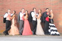 Prom photo group by DC Photography