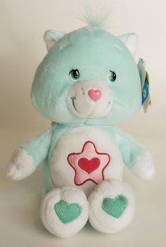 Vintage Proud Heart Cat Care Bear Cousins plush stuffed animal