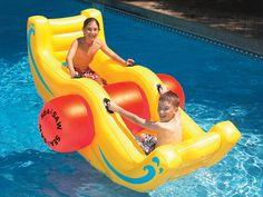 Splash into summer with these cool pool gadgets, can't wait for us to have a pool!