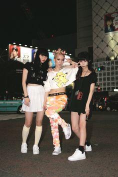 [Street Style] ASAMI & Hirari Ikeda & Juria    Shibuya (Tokyo)