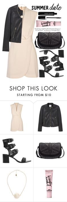 """Summer Date Night"" by alaria ❤ liked on Polyvore featuring Finders Keepers, MANGO, Beauty Rush, Marc Jacobs, Vanity Fair, summerdate and rooftopbar"
