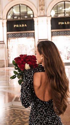 roses & long hair