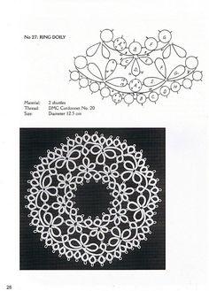 Gallery.ru / Фото #27 - The DMC Book of Charted Tatting Designs - mula
