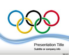 Olympic Games PowerPoint Template is a free PPT template design for presentations on Olympic Games