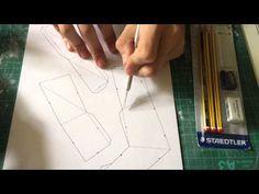 Cosplay Tutorial: How to Make a Gauntlet Using Pepakura - Part 1 - YouTube
