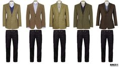 Pairing sport coats with jeans