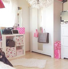 Image via We Heart It #cute #design #flowers #girly #ikeafurniture #pastel #white