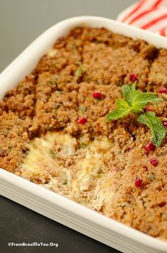 Brazilian Baked Kibbeh (Kibe Assado Recheado) - From Brazil To You