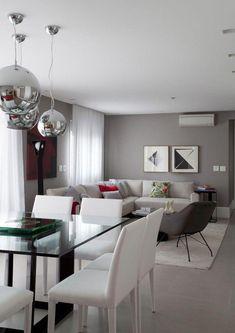 New Apartment Living Room Luxury Furniture Ideas Home Living Room, Apartment Living, Living Room Decor, Moderne Pools, Dining Room Lighting, Apartment Furniture, Luxury Furniture, Modern Furniture, Antique Furniture