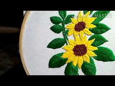 Blouse Pattern Free, Free Pattern, Basic Embroidery Stitches, Hand Embroidery Designs, Kutch Work Designs, Kurti Neck Designs, Sunflower Design, Stitch Design, Sunflowers