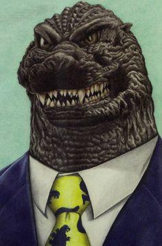 That's Mr Godzilla to you.
