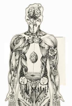 Human Anatomical Manikin - Artworks by Sara Suppan