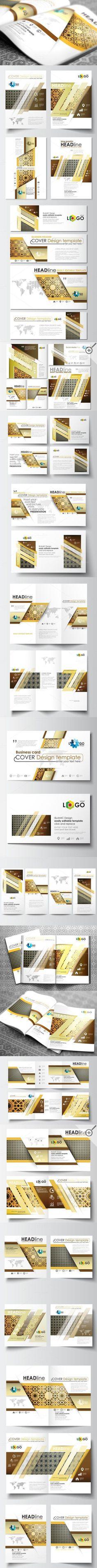 Business infographic : Business infographic : Business infographic : Flat design templates v.2. Busines