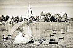 Baptism photos at the Idaho Falls temple