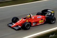 Video: Michele Alboreto in the 1985 Monaco Grand Prix