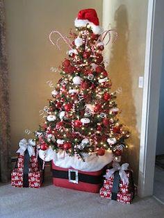 Old Fashioned Santa Tree Topper