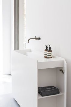 New sizes in the Scape washbasin collection designed for Not Only White design by Joost van der Vecht