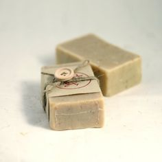handmade soap - personalize with a tag with your monogram or a favorite quotation.