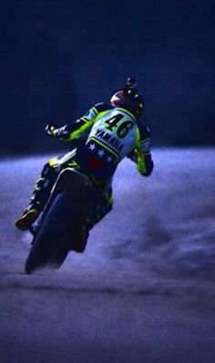 Valentino Rossi at his ranch