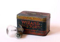 vintage tin auto bulb kit