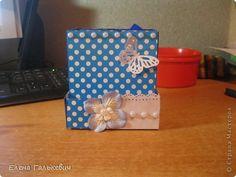 Мастер-класс Аппликация Органайзер из чайной коробки Бумага Карандаш Картон Клей фото 1