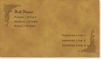 antique old paper Standard Business Cards