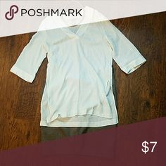 H&M ivory color top Slouchy ivory color H&M top, excellent condition H&M Tops Blouses