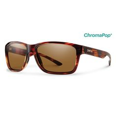 Smith Sunglasses Drake Tortoise ChromaPop Polarized Brown
