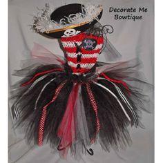Pirate Tutu Dress. #dress #clothes 9thelm.com