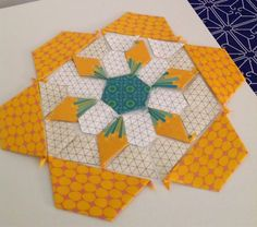Periwinkle Quilting and Beyond: Millefiore moving along...