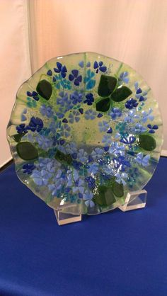 Fused Glass Decorative Plates - Delphi Stained Glass