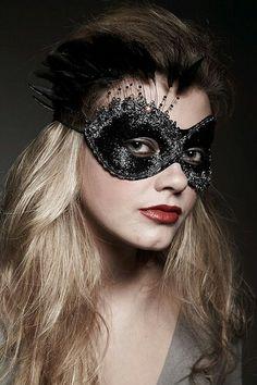 Halloween Horror Burlesque Wolf Costume Evening PartyMasquerade  Mask