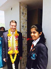 DMU Square Mile Homework Club India is due to launch with the support of #DMUGlobal