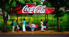bus stop in managua, nicaragua (july 2000)