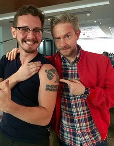 Stuff I geek out over — blues-for-the-wicked:   When Martin Freeman loves...