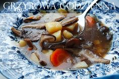 zupa grzybowa z suszonych grzybów