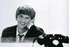 Ringo junto al teléfono