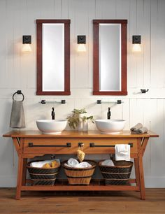 Rejuvenation Bath: Rejuvenation #Craftsman Bath. #artsandcraftslighting