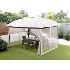Small Gazebo With Side Panels