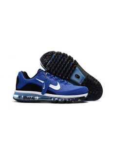 low priced a6be8 5d9a0 Nike Air Max 2017 Herr Royal Svart Blå Vit SE227162