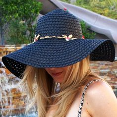 Protect that gorgeous skin and look glam doing it with this easy DIY Sarette Sun Anthropologie inspired hat.
