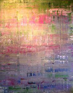 """""""Objekt 611"""" - 48""""x60"""" Acrylic on Canvas 2015"""