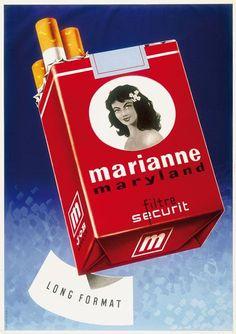 Marianne cigarettes ~ Françis Andruet