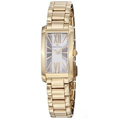 Maurice Lacroix Women`s FA2164-PVY06112 Fiaba Silver Dial Gold Watch $886.98