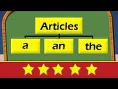 English Grammar: Proper uses of Articles  A, An, The (They talk with an accent but share good info)