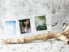 #DIY Wooden photo stand : DIY Wood Crafts Recycle