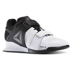 Reebok Women s Legacy Lifter in White   Black   Pewter Size 9.5 - Training  Shoes 0feffd804