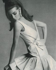 Shot by Bert Stern for Vogue, November 1965